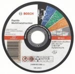 Řezný kotouč BOSCH Rapido Multiconstruction 125x1.0x22.23mm